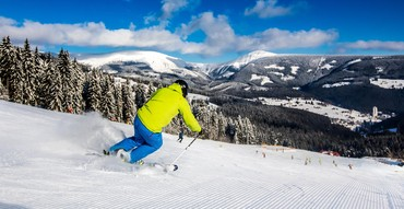12 km of ski slopes open from Saturday 14th December